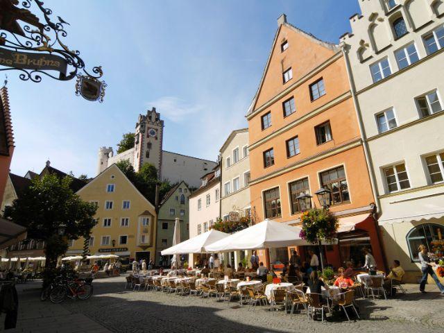 Füssen im Allgäu, Foto: Füssen Tourismus und Marketing/www.guenterstandl.de