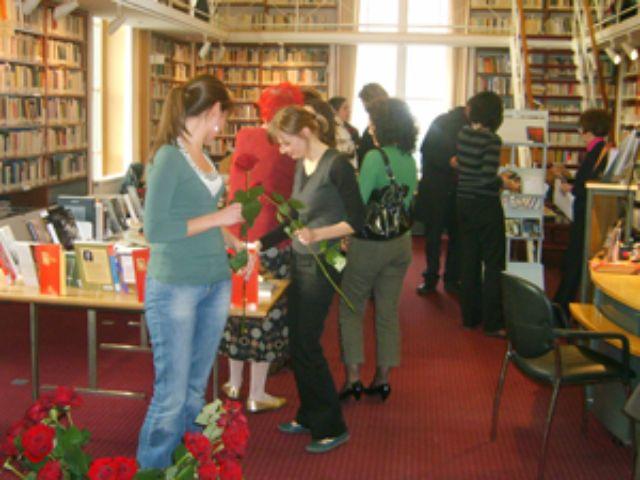 Bibliothek des Spanischen Kulturinstituts, Foto: Instituto Cervantes München