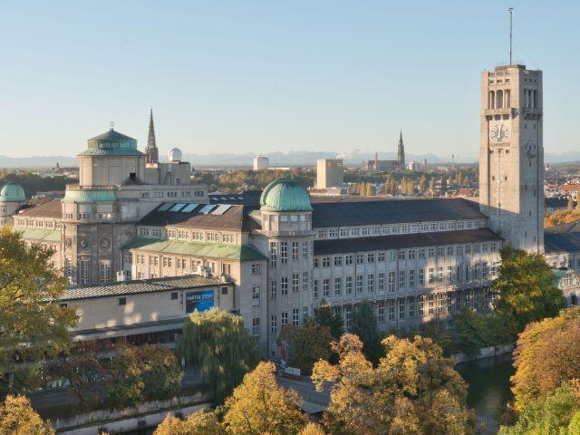 Deutsches Museum von Nordwesten gesehen