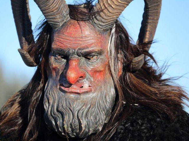 Masken der Krampus-Gruppe Sparifankerl-Pass, Foto: Sparifankerl-Pass