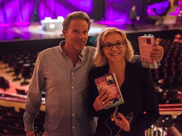 Christian Tramitz und Rita Falk., Foto: Krimifestival München/Pavel Broz