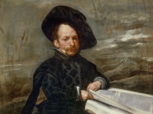 Diego Velázquez Hofnarr mit Buch auf den Knien, 1636-1638