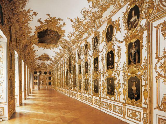 Ahnengalerie in der Residenz, Foto: Bayerische Schlösserverwaltung, München