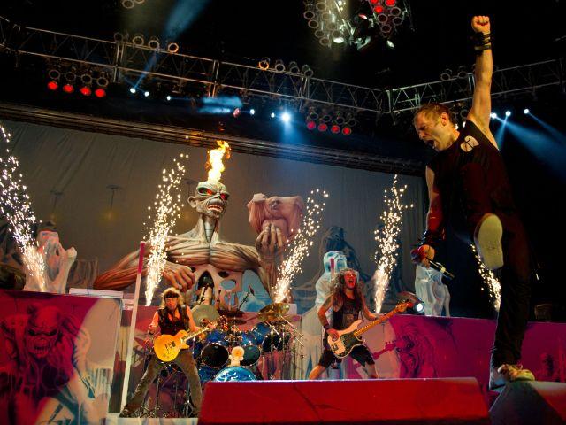 Die Band Iron Maiden., Foto: www.rockavaria.de