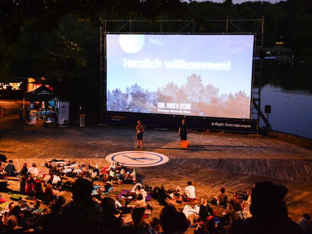 Kino, Mond & Sterne im Westpark.