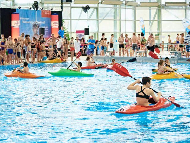Impressionen zum M-net Münchner Wassersportfestival.