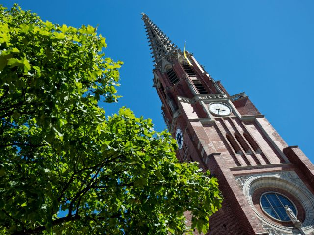 Mariahilfkirche in der Au, Foto: LHM-RAW