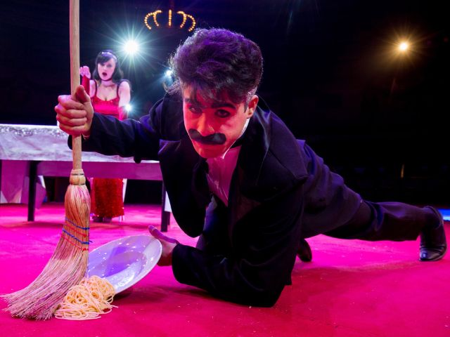 Tonito Alexis und Stefania, Foto: Circus Krone
