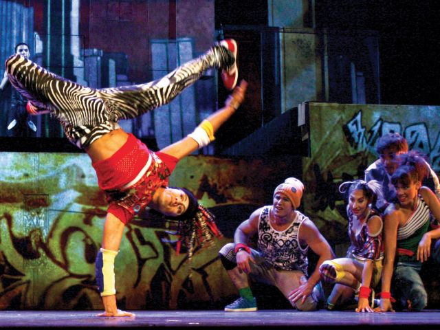 "Cirque Éloize ""ID"", Foto: Jean Francois Okane"