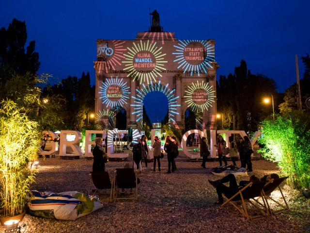 Streetlife Festival München Corso Leopold im September 2017, Foto: Lukas Barth