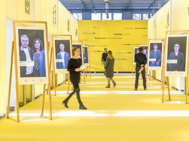 """Impressionen zur Ausstellung """"energie.wenden"""", Foto: Deutsches Museum"""