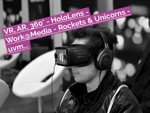Medientage - VR-Aktionen, Foto: Medientage