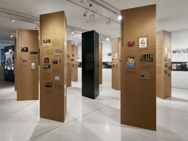 """Fotos aus der Ausstellung """"Nie wieder. Schon wieder. Immer noch."""", Foto: Jens Weber"""
