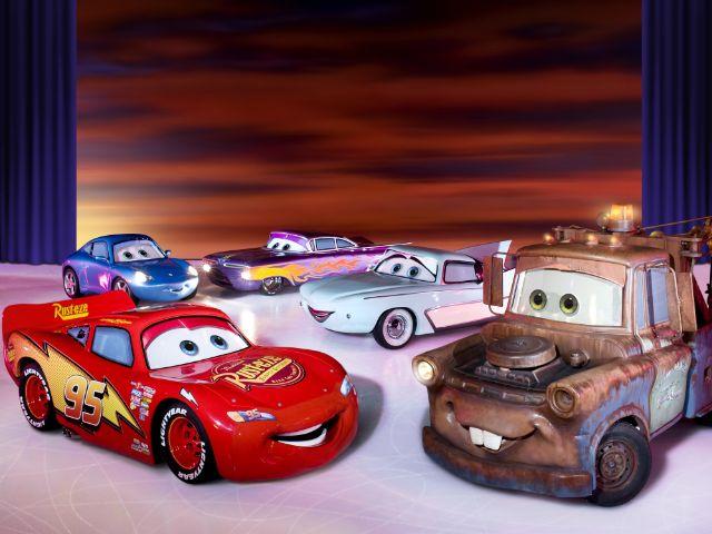 Szene aus Disney on Ice, Foto: Feld Entertainment / Disney / Pixar