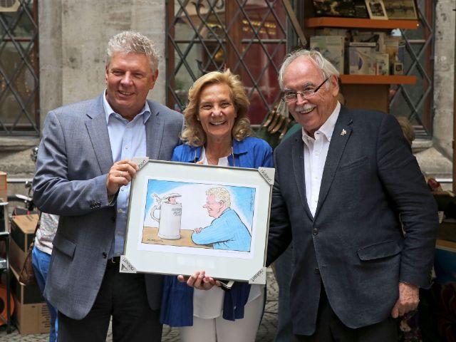 Impressionen der Rathausdult mit Dieter Reiter, Foto: Michael Nagy / Presseamt München