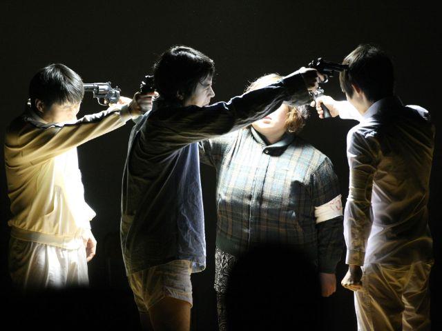 """Step-Memories - The Return of the Oppressed"" von Hansol Yoon, Foto: Festival_Tokyo / Spielart Festival"