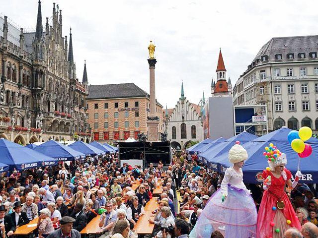 Stadtgründungsfest Marienplatz, Foto: muenchen.de