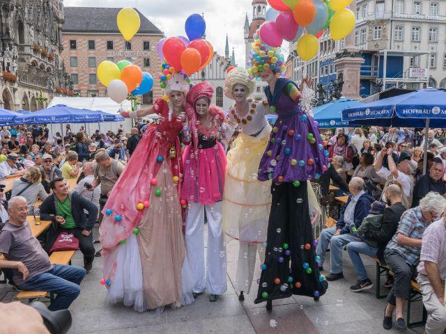 Impressionen vom Stadtgründungsfest 2017, Foto: muenchen.de/Lukas Fleischmann