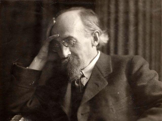 Germaine Krull, Kurt Eisner, Fotografie, vor Februar 1918, Foto: Münchner Stadtmuseum