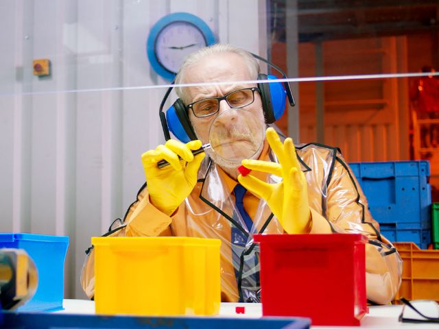 "Szene aus dem Film ""Cubeman"", Foto: Bunter Hund"