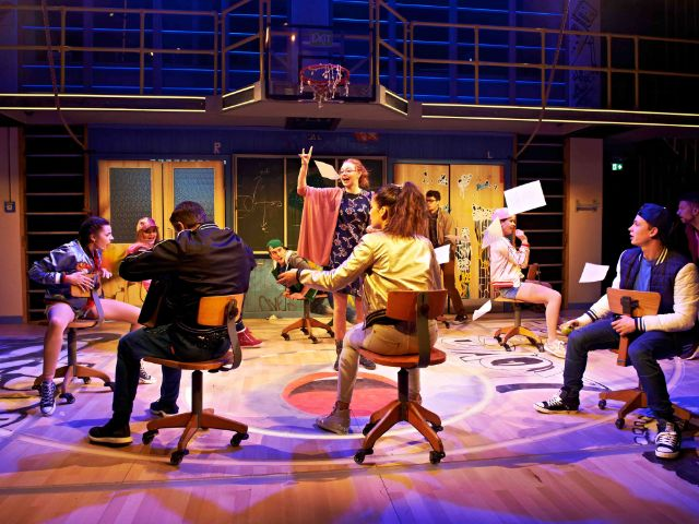 Szene aus Fack Ju Göhte - Se Mjüsical, Foto: Stage Enterntainment