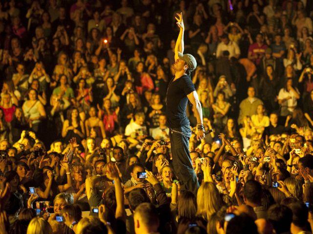 Enrique Iglesias im Konzert, Foto: Global Concerts