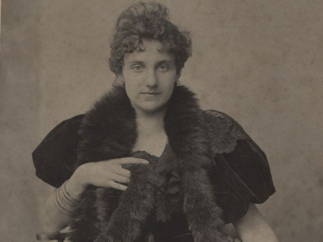 Die Schriftstellerin Marie Haushofer, Foto: Münchner Stadtbibliothek / Monacensia