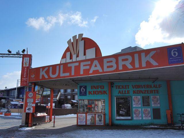 Kultfabrik München, Foto: Kultfabrik