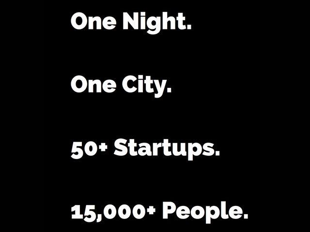 Startup-Night der Bits & Pretzels, Foto: Bits & Pretzels