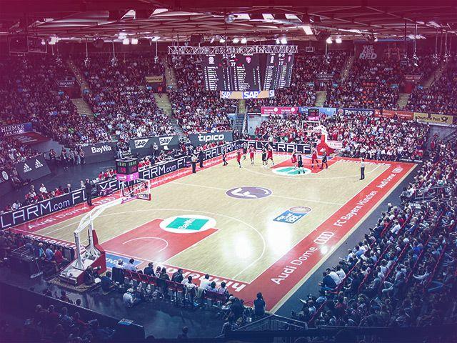 Audi Dome in München, Foto: FC Bayern Basketball