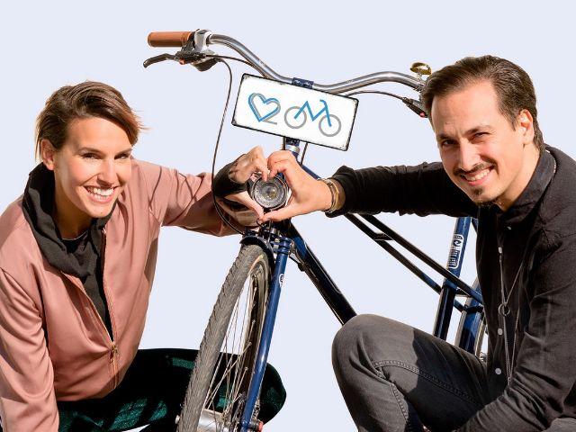Shary und Sergio von der Band Kleyo, Foto: WE LOVE RADL - Key-Motiv