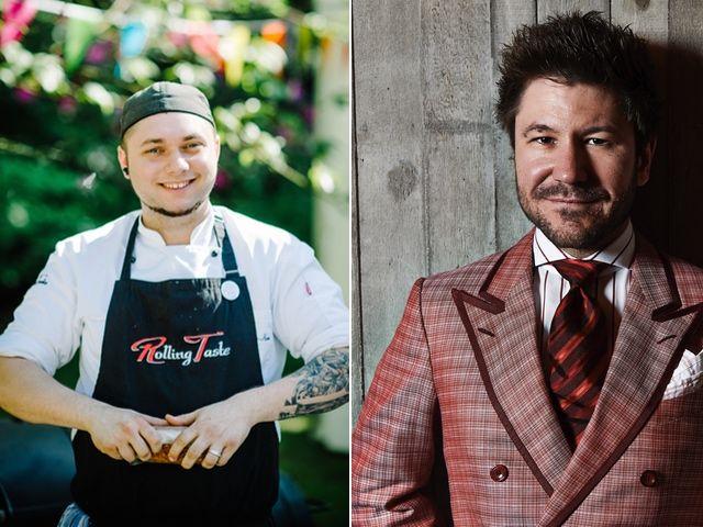 Moritz Crone-Rawe und Justin Leone, Foto: Rolling Taste / Mike Krüger