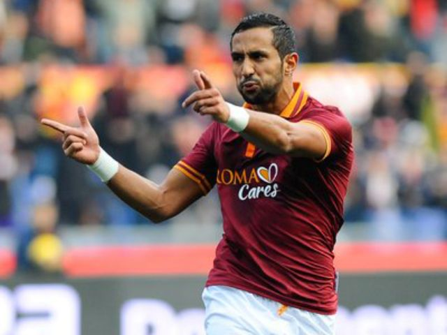 Mehdi Benatia beim Torjubel, Foto: HOCH ZWEI / Italy Photo Press / dpa