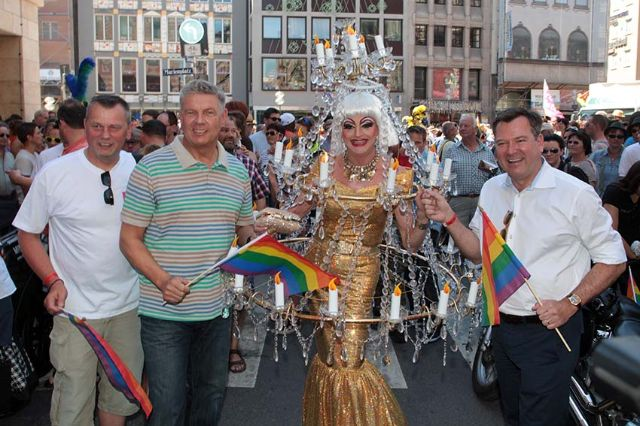 Parade zum Christopher Street Day 2014, Foto: Michael Nagy