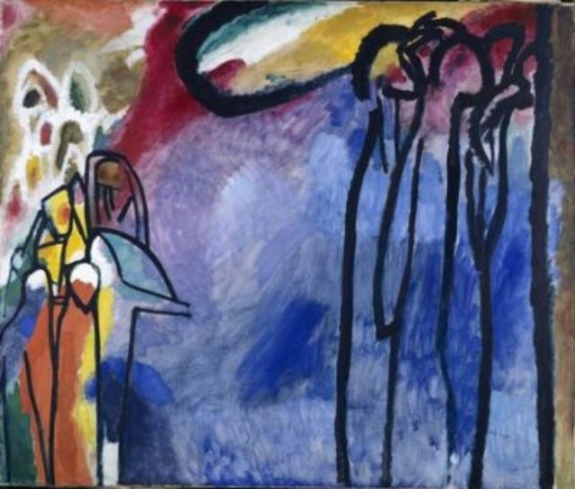 Wassily Kandinsky, Improvisation 19, 1911, Foto: Städt. Galerie im Lenbachhaus und Kunstbau