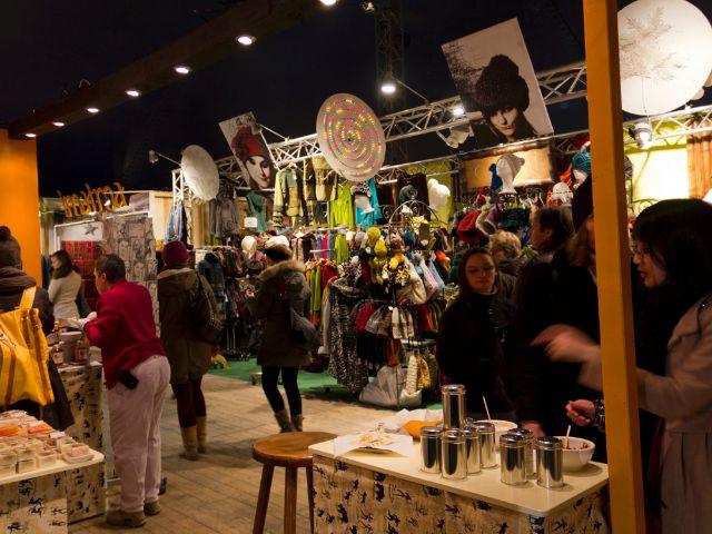 Tollwood Winter-Festival 2013 auf der Münchner Theresienwiese, Foto: Katy Spichal