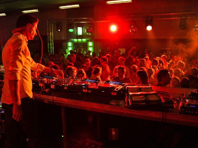 Party im neuen Heckenstallertunnel, Foto: Christian Scheiffele