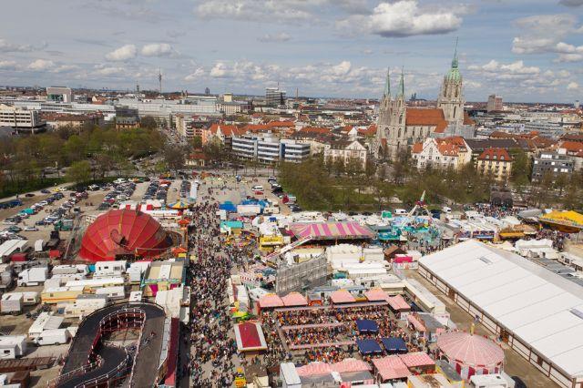 Frühlingsfest 2012 von oben