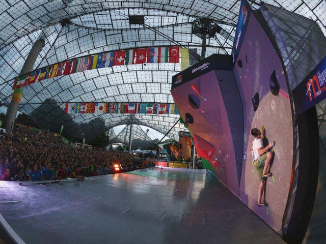 Boulder Weltcup 2015, Foto: DAV / Marco Kost