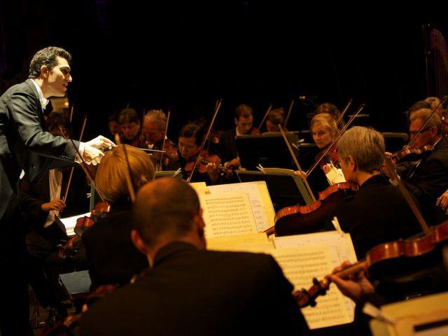 Das Orchester des Gärtnerplatztheaters., Foto: Christian Zach