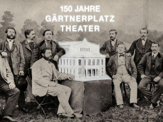 Ausstellung: Dem Volk zur Lust und zum Gedeihen - 150 Jahre Gärtnerplatztheater, Foto: Wolfgang Reiffenstuel/Fotomontage Florian Schaaf