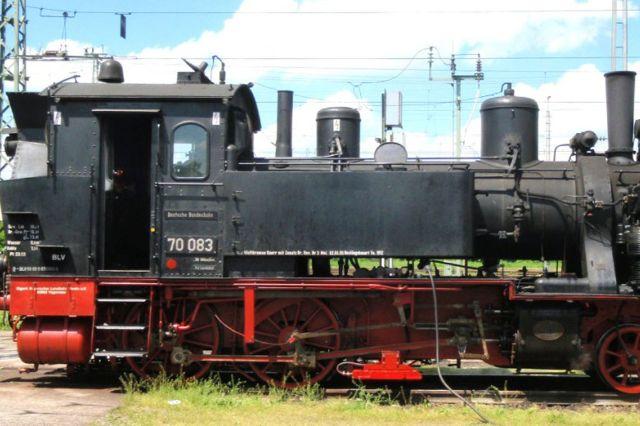 Historische Dampflok, Foto: Bayerischer Localbahn Verein e. V.