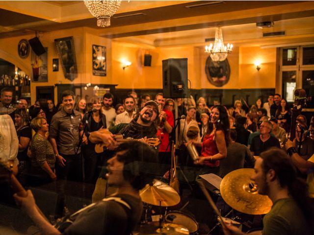 Die Band Palo Santo., Foto: Christian Vogel