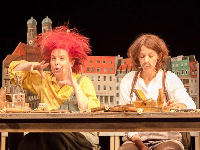 Lesung von Pumuckl im Residenztheater München