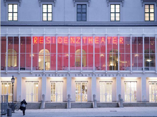 Fassade des Residenztheaters München, Foto: Gerhardt Kellermann
