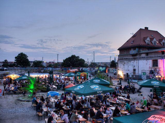 Open-Air-Kino im Viehhof, Foto: Massimo Fiorito
