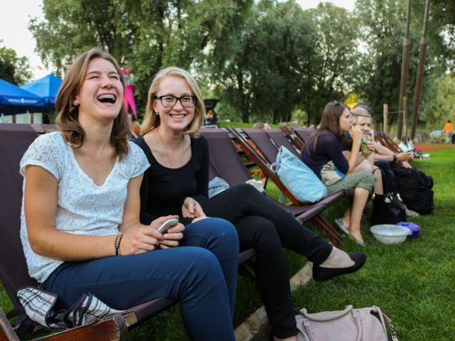 Stimmung bei Kino am Olympiasee, Foto: Christian Scheiffele