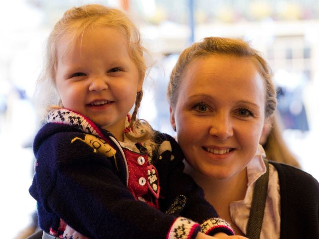 Familientag auf der Wiesn 2015, Foto: Katy Spichal