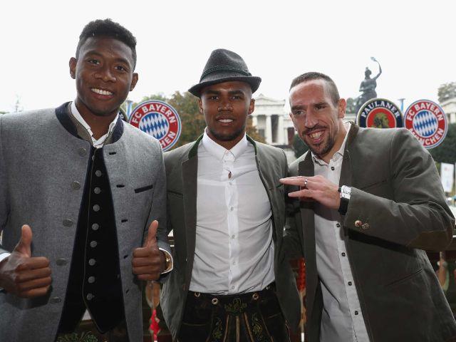 Der FC Bayern München auf der Wiesn 2016