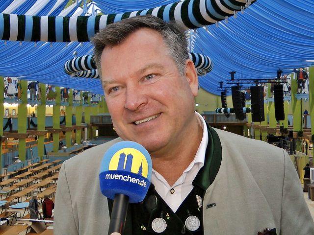 Wiesnrundgang 2017: Bürgermeister Schmid, Foto: muenchen.de/Immanuel Rahman